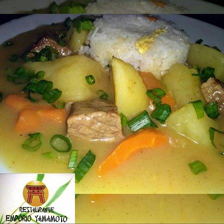 Nosso delicioso Rice Curry  somente nas quartas-feiras.