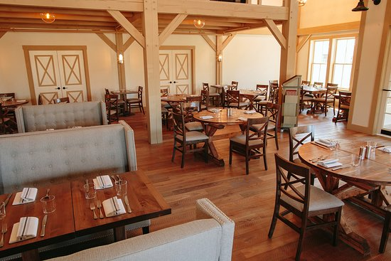 Main dining area at Grove