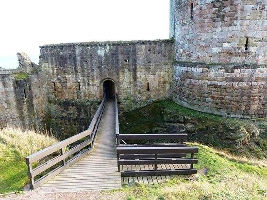 Bridge over the moat