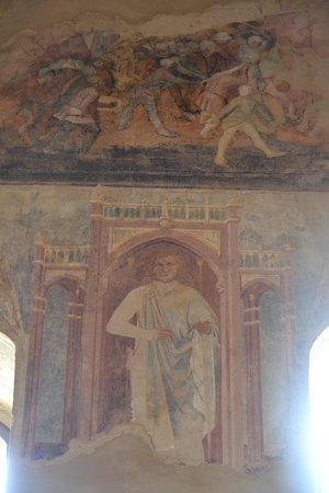 Castello di Montefiore Conca: Un affresco interno