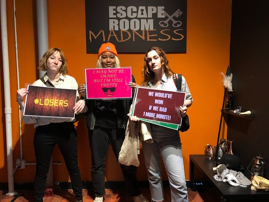 Escape Room Madness (6th Floor)