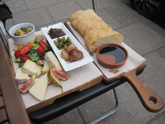 The non meat aperitivo of antipasto for two!