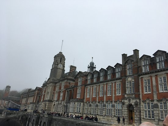 Britannia Royal Naval College: The iconic old girl