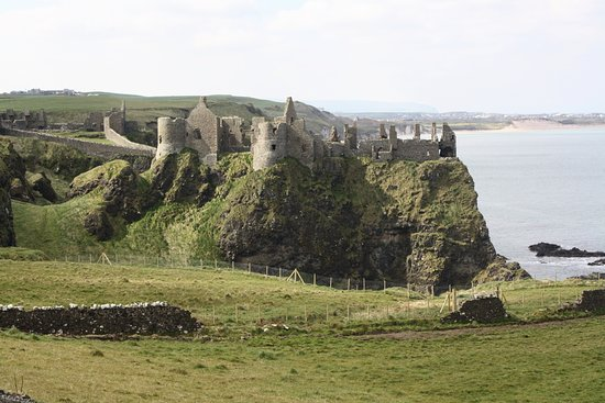 Giant's Causeway Premium Day Tour from Belfast (Includes Admissions): Dunluce Castle