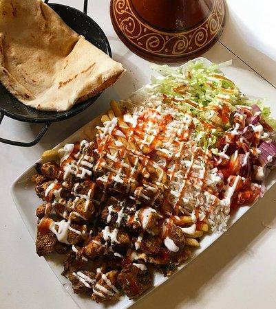 plato kebab artesanal