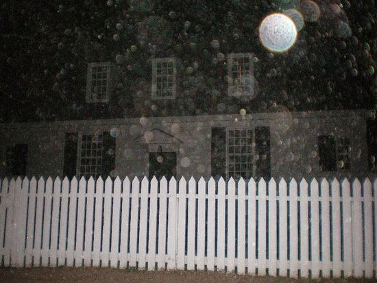 The oldest house in town from the very late 1600s, the Nelson Galt House. Orbs, orbs and more orbs