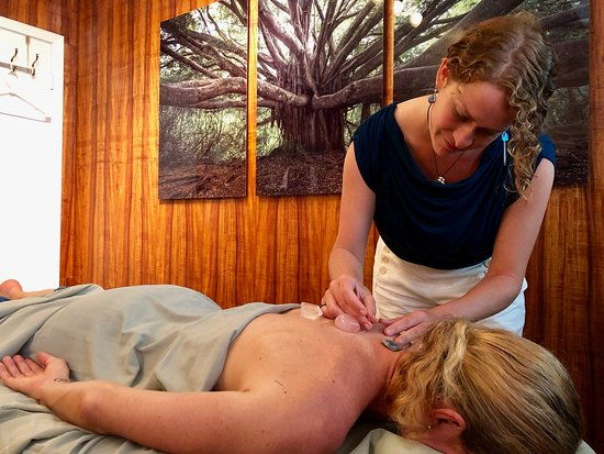 Sage - our acupuncturist.