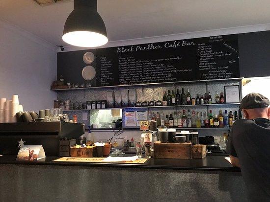 Black Panther Cafe لوحة