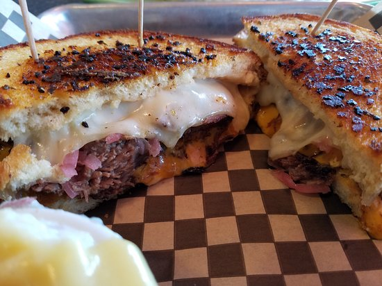 Polly's Pies Restaurant: Short Rib Mega Grill Cheese $11.99