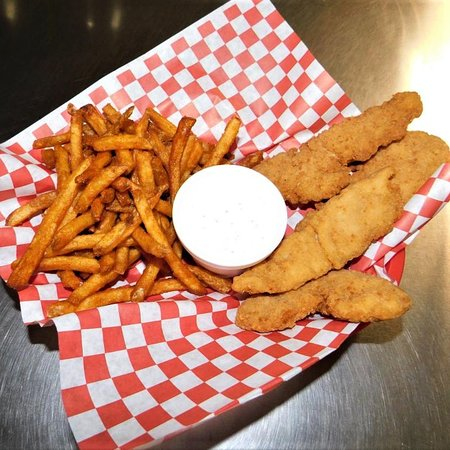 Chicken tenders, just can't beat em.