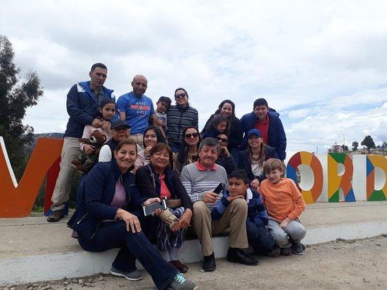 Samaca, Colombia: Mirador del valle