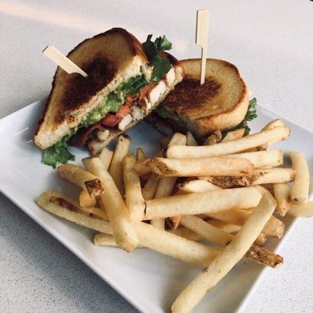 Chicken BLTA (Bacon, Lettuce, Tomato, Avocado)