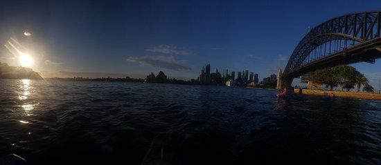 Panorama of the harbor