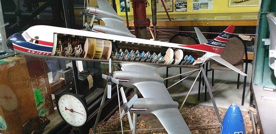 Sir Reginald Ansett Transport Museum Hamilton Vic model Elektra