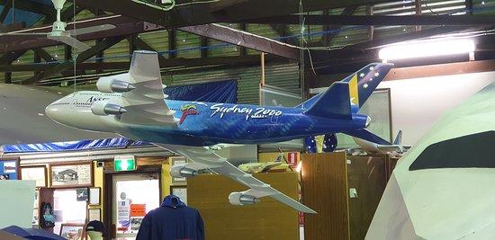 Sir Reginald Ansett Transport Museum Hamilton Vic model Ansett for Sydney 2000 Olympics