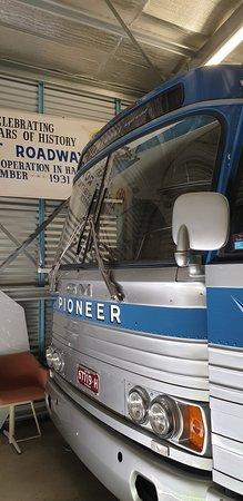 Sir Reginald Ansett Transport Museum Hamilton Vic front of clipper