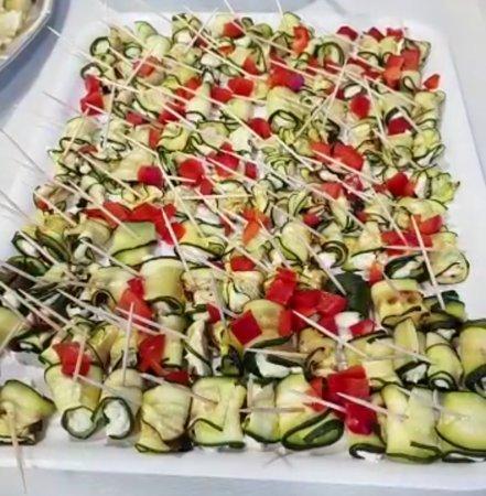 Asti, Italia: Preparazioni buffet