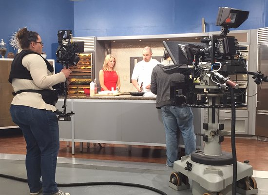 Chef Mike on TV
