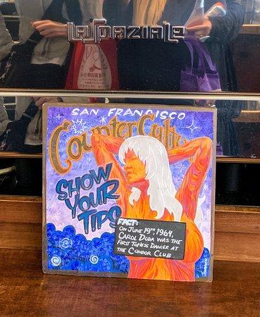 Caffe Sapore: Sign