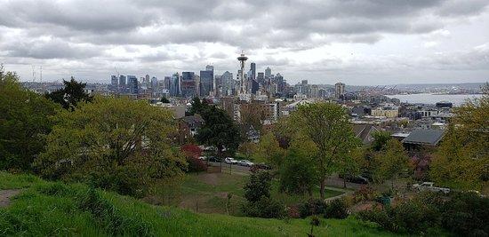 Para clicar belas fotos de Seattle