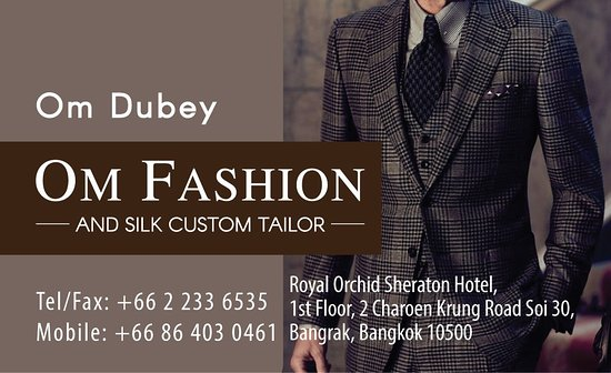 Om Fashion and Silk Custom Tailor