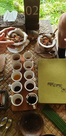 Best of Ubud Tour with Jungle Swing: Coffee and tea tasting.