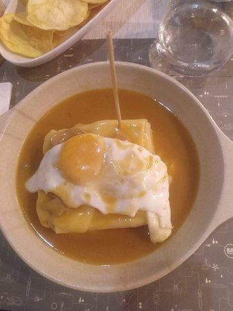 Bijou Restaurante: Franceshina