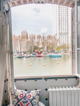 Le Pavillon des Canaux: The view