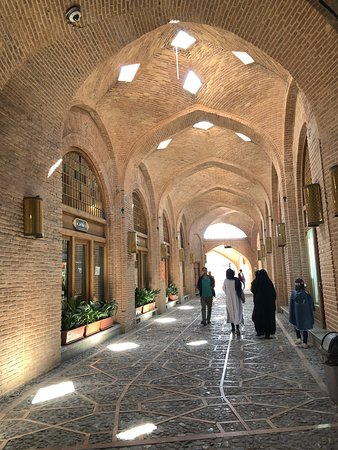 The Caravanserai of Sa'd al-Saltaneh is a large Caravanserai located in the city of Qazvin in Qazvin Province of Iran.