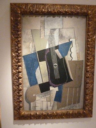 Museum Berggruen: Auf der Rückseite dieses Picasso ist die Geschichte des Bildes dokumentiert (leider Fotoverbot der Rückseite)