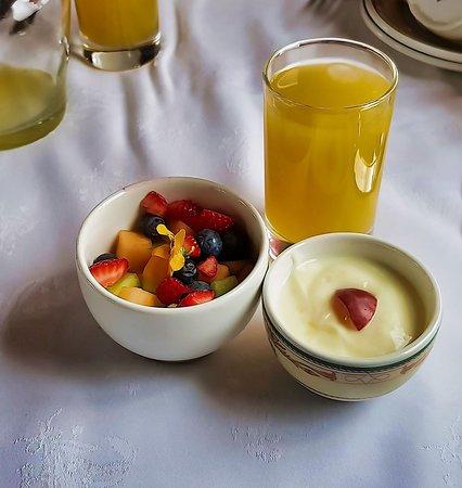 Rovos Rail: Breakfast.