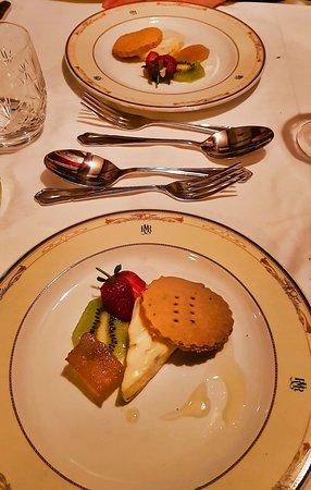 Rovos Rail: Cheese platter.