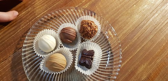 Our choice of truffles