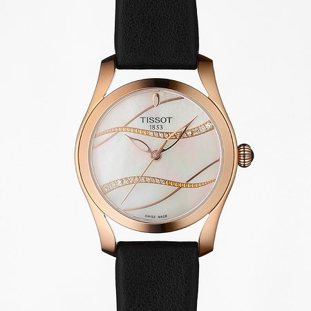 Tissot T-Wave Ladies Watch With Diamonds , Sapphire Crystal , 2 Years International Warranty , For 475€ .