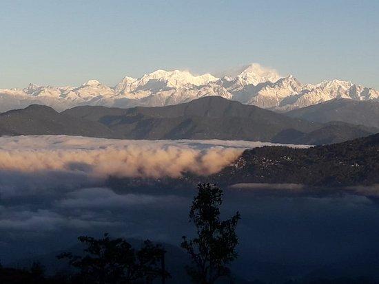 Kanchenjunga from Charkhole