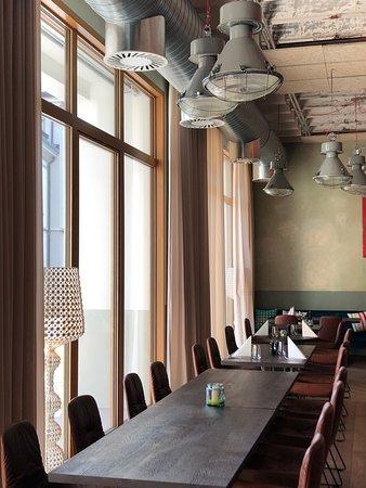 Restaurant's interior