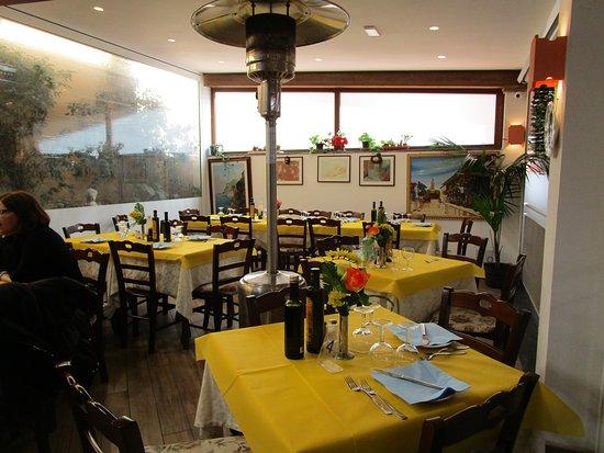 The main restaurant.