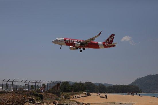 Самолетный пляж на Пхукете