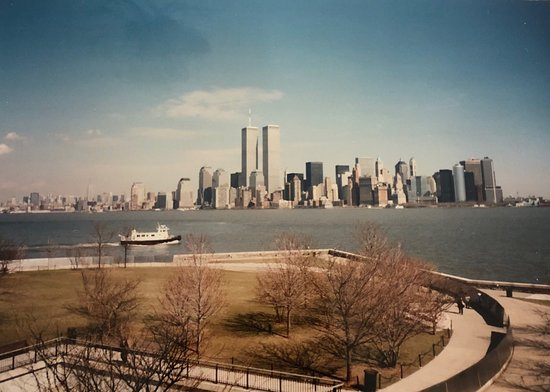 Historical pictures ... I was there with my airline crew...end of summer 2000... view of the Twin Towers from Ellis Island....