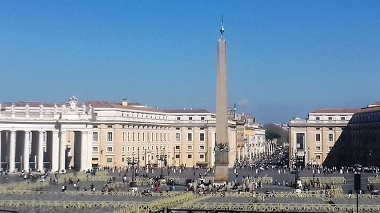St. Peter's Square with Obelisk.