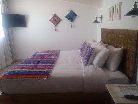 Santa Josefita Bed & Breakfast: Habitación de lujo con una cama King Size