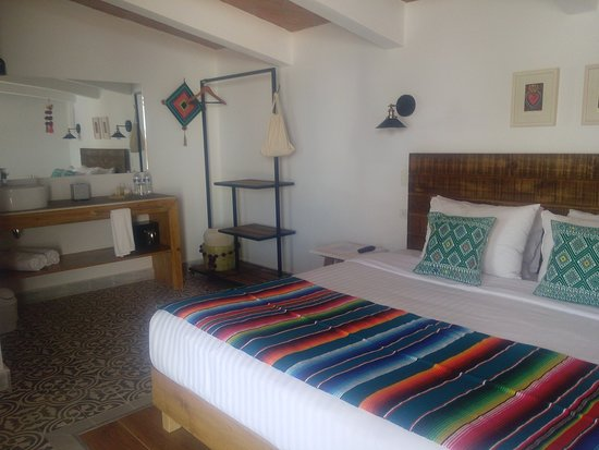 Habitación de lujo con una cama King Size
