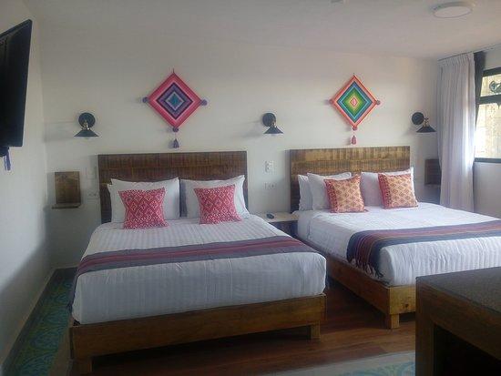 Habitación de lujo con dos camas Queen Size