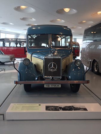 Mercedes Benz müzesi