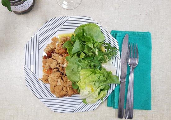 Plat- Crumble aux légumes