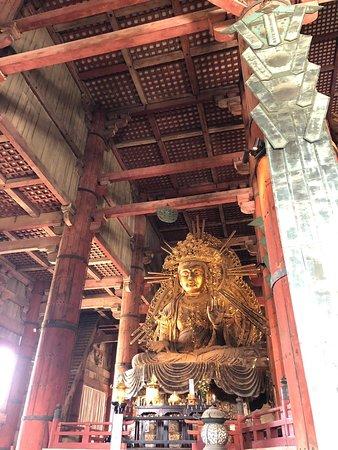 Impressive Budda and fantastic wooden structure