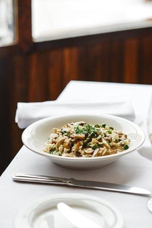 Restaurant Lemeac: Mushroom Risotto!