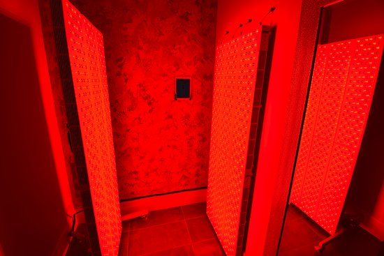 Private Red Light Therapy (photobiomodulation) Room RejuvCryo & Hyper Wellness North County San Diego CA