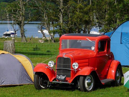 Ullswater, UK: Camping Hot Rods