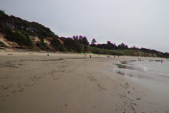 Seal Rock State Park: The huge beach